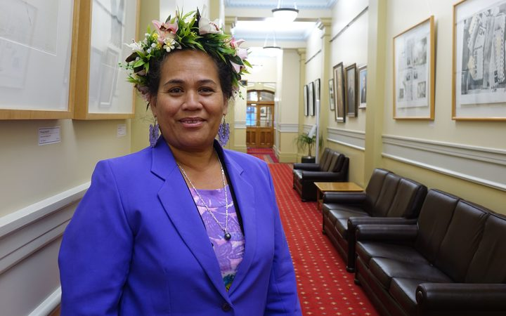 Tetangi Matapo, a member of the Cook Islands Democratic Party.
