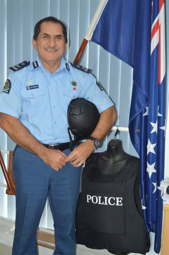 Cook Islands Police chief, Ma'ara Tetava