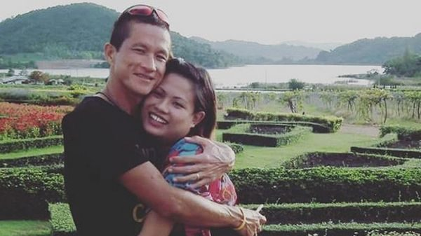 Valeepoan Kunan posted this photo of her husband, Samarn Kunan, on her Instagram feed.