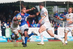 Manu Samoa all but sealed their World Cup berth.