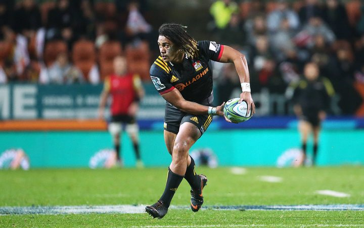 Chiefs second five Johnny Fa'auli