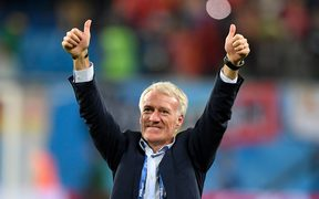 France football coach Didier Deschamps.