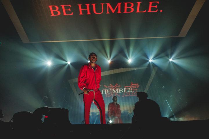 d4ed1815db34 Kendrick Lamar performing in Boston as part of his DAMN. Tour