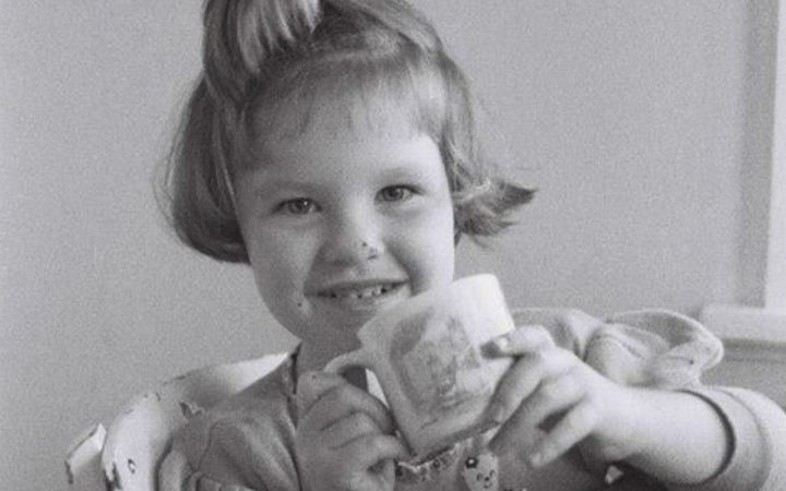 Ruby Knox as a young child
