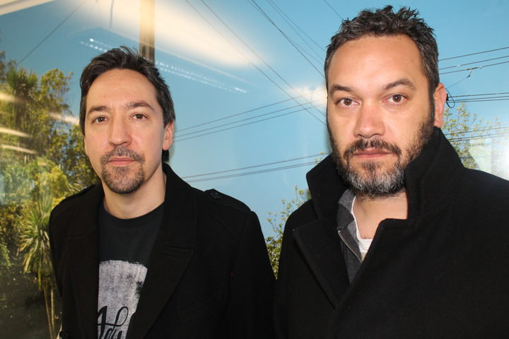 Jon Toogood and Karl Kippenburger of Shihad.