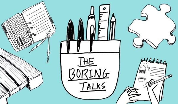 The Boring Talks logo (Supplied)