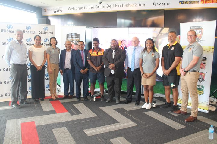Sport: PNG links with Brisbane Broncos to promote women's