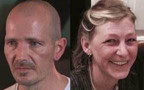 Novichok poisoning victims Dawn Sturgess and Charlie Rowley.