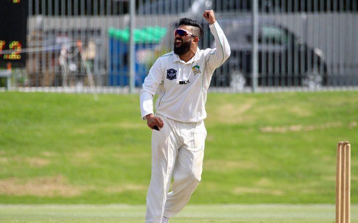 Central Stags left-arm spinner Ajaz Patel