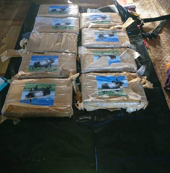 The New Zealand Defence Force has assisted Fiji authorities in recovering over 12 kgs of cocaine that were found on a remote island last week.