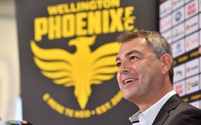 Wellington Phoenix head coach Mark Rudan