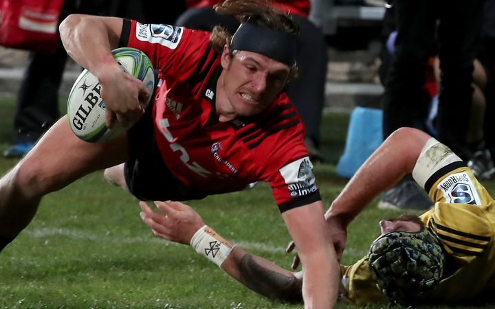 Crusaders winger George Bridge
