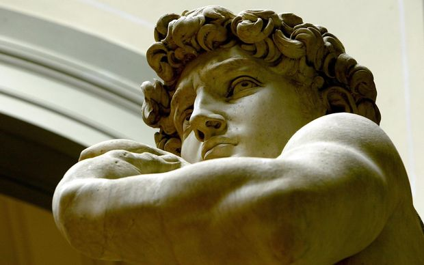 Experts warn that Michelangelo's David is in danger of collapse.