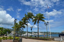 French Polynesia. Papeete waterfront