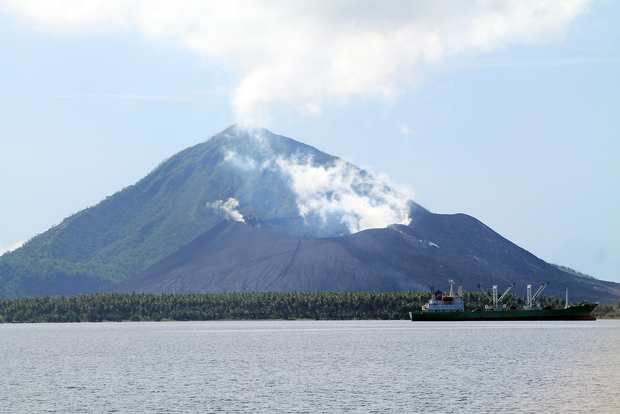 Tavurvur volcano, East New Britain, Papua New Guinea