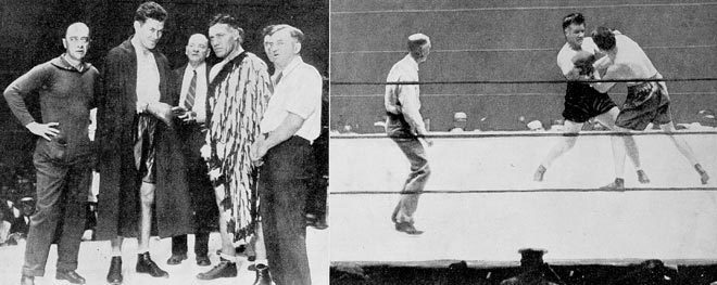 Tom Heeney versus Gene Tunney 1928