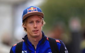 New Zealand F1 driver Brendon Hartley