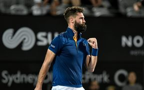 French tennis player Benoit Paire.