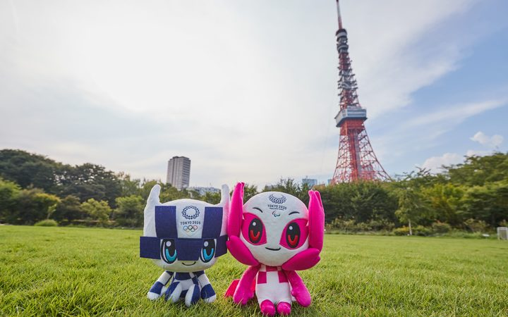 Official Mascots of the Tokyo 2020 Olympic and Paralympic Games.