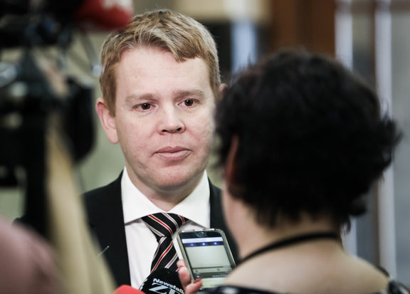 Minister for Education and Leader of the House Chris Hipkins.