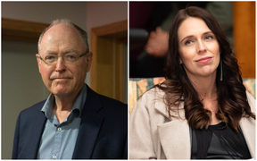 Don Brash and Jacinda Ardern