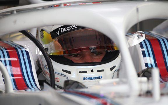 F1 driver Lance Stroll.