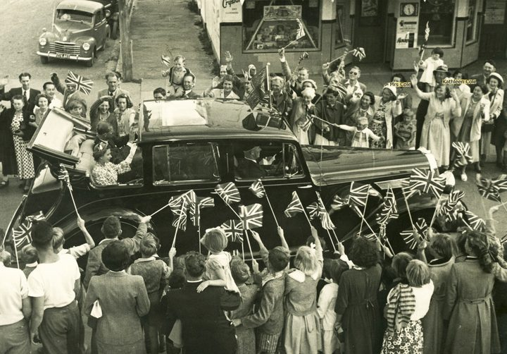 Royal tour 1954