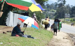 Mendi people are getting on with life after a major earthquake disaster and political unrest.