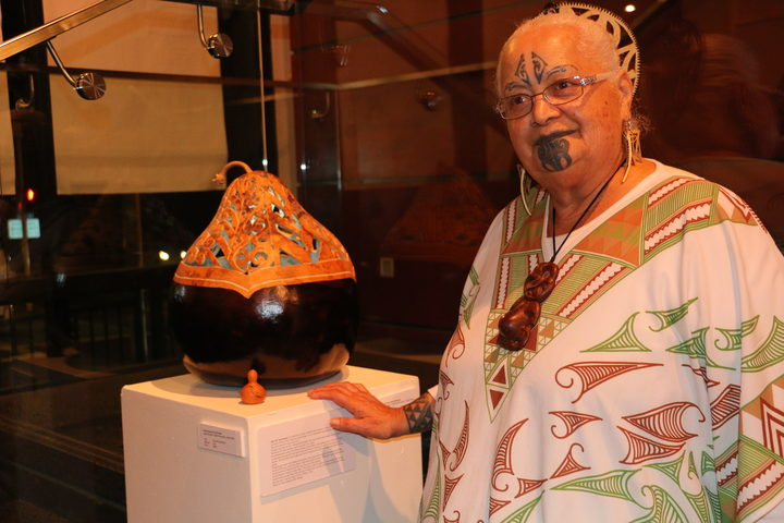 Hinewirangi Kohu Morgan uses tāonga pūoro (flute instruments) and hue in her work as an artist and to help victims of sexual assault.