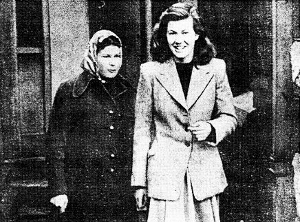 Pauline Parker and Juliet Hulme, 1954.