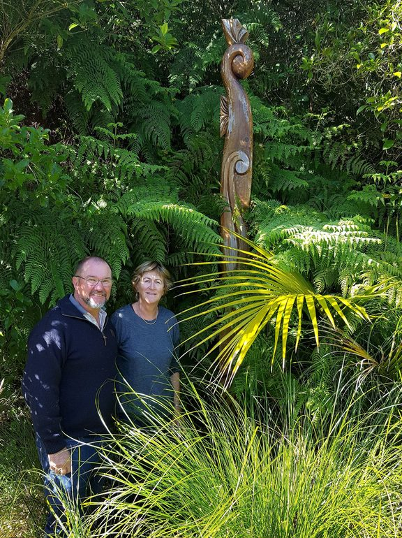 Alan and Helen Thompson winners of the 2017 Northland Ballance Farm Environment Award