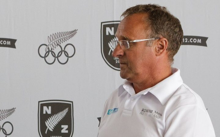 Rowing NZ high performance manager Alan Cotter.