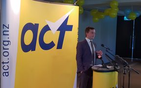 David Seymour at the 2018 ACT Party conference
