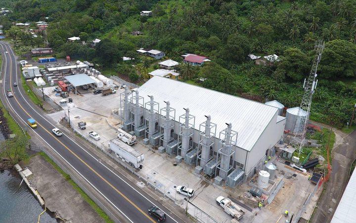 Major alternative energy project for American Samoa