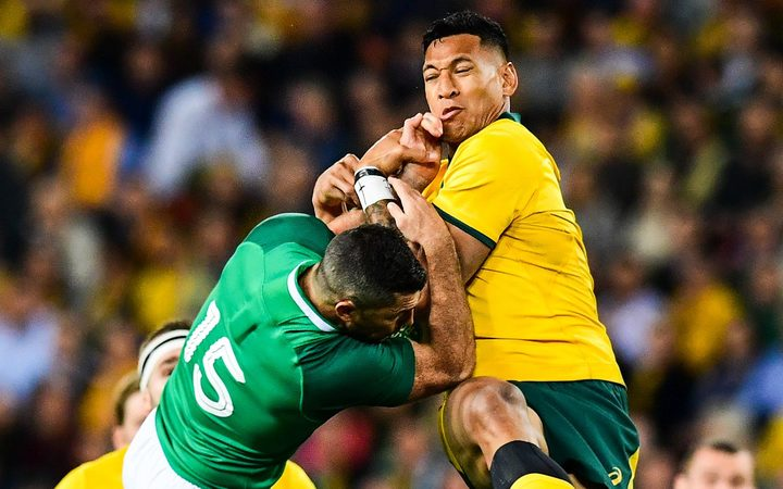 No NRL lifeline for under-siege Israel Folau