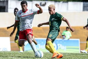 New Caledonia and Solomon Islands are one game away from qualifying for the FIFA Under 20 Men's World Cup.