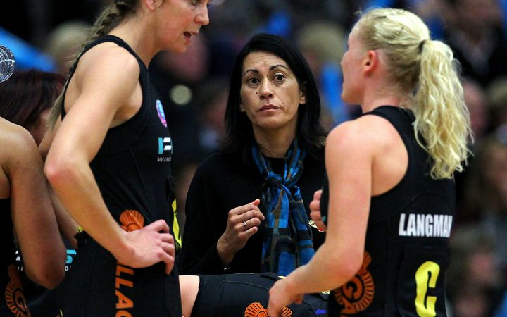 Coach Noeline Taurua has always kept an eye on veteran Laura Langman