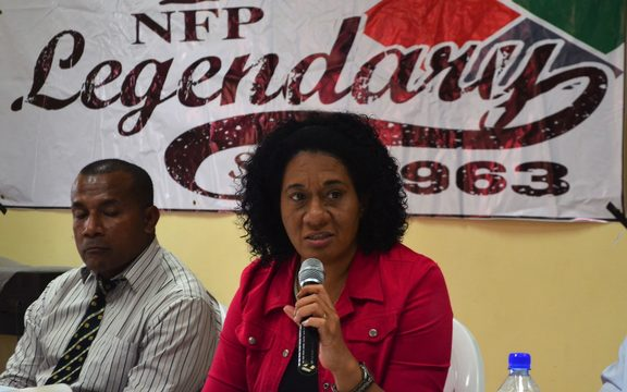 National Federation Party Fiji Vice-President Seni Nabou