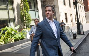 Michael Cohen in New York City 27 July 2018.