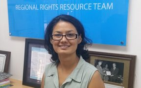 Senior human rights advisor for the Pacific Community, Jayshree Mangubhai.
