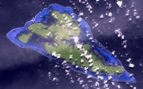 Yap satellite map.