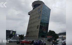 Move over Pisa, Wellington has its own leaning tower: RNZ Checkpoint