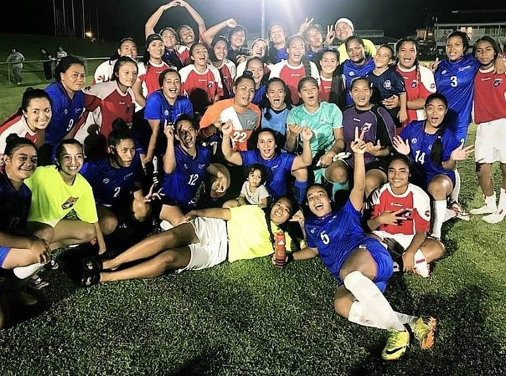 American Samoa are competing at senior women's level for the first time in 11 years.