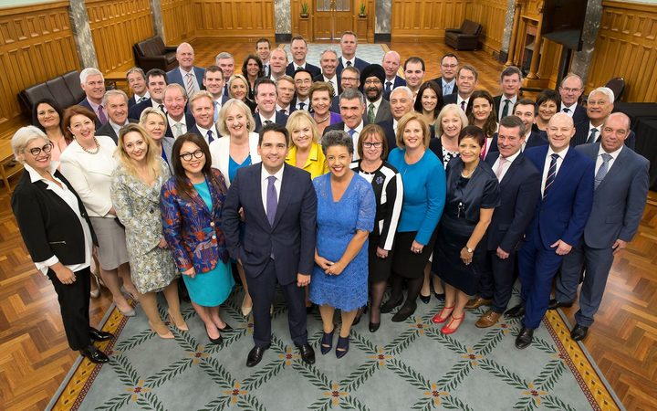 National Party caucus. Photo / National Party