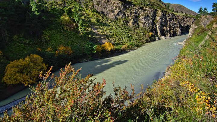 Waiau River gorge, Hanmer Springs, Canterbury, New Zealand