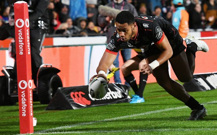 David Fusitu'a sits at the top of the NRL's trying scoring list.