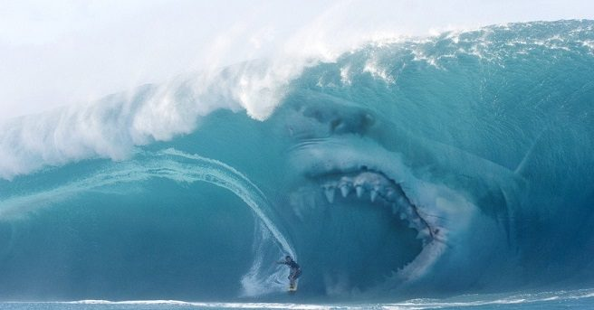 A 75-foot-long prehistoric shark is the true star of The Meg.