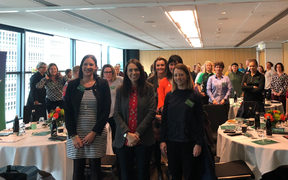 Jacinda Ardern at the NZ Rugby's Women in Governance Conference