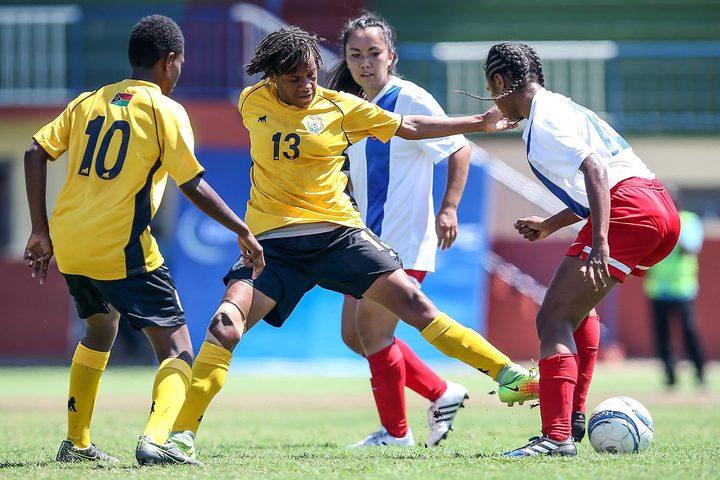 Melissa Wakaret scored the match winner for Vanuatu.