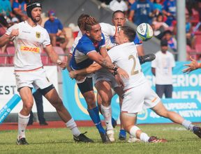 Manu Samoa's only test victories in the past year were against European minnows Germany.